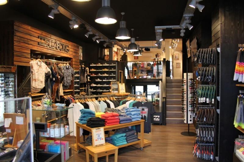 Surf Shop Biarritz Billabong Store Magasin De Surf Jo